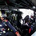 Ott Tänak ja Martin Järveoja pärast Monte Carlo avariid.