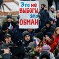"""Venemaa """"valijate streigi"""" protestiaktsioonidel vahistati 350 inimest"""