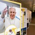 Paavst Franciscus, näitus Rahvusraamatukogus
