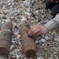 Саперы обезвредили несколько десятков найденных боеприпасов