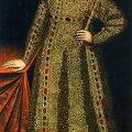 Romanovite hirmuvalitsejate esi-isa: Mihhail Romanov (u 1636–1638, tundmatu kunstnik). REPROD EESTI KUNSTIMUUSEUM