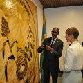Paul Kagame ja Kersti Kaljulaid
