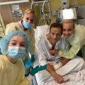 15. septembril avaldati Berliini haiglas toibunud Navalnõist selline pilt.