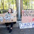 Noorteliikumise Fridays for Future meeleavaldus Toompeal