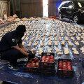 Saudi võimud said möödunud kuu lõpul granaatõunalastist kätte suure narkolaadungi.
