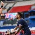 Neymar ei tohi täna kollast kaarti saada, kui ta poolfinaali avamängu kaasa tahab teha.