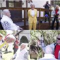 VIDEO JA FOTOD | Hundisilmal tähistatakse Edgar Savisaare 70. sünnipäeva. Õnnitlema tuli ka Vilja Toomast