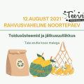 RÄÄGI KAASA | Kutsume noori ja noorsootöötajaid arutlema toidusüsteemide ja jätkusuutlikkuse teemal