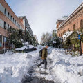 VIDEO | Hispaania saab lumme uppumise järel tunda käredat külma