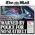 97–aastane brittide prints Philip jättis autoroolis turvavöö kinnitamata ja sai politseilt noomida