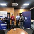 Trumpit Solutionsi IT-spetsialistid ja arendajad: Margus, Johannes, Kenno ja Gonzalo
