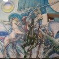 """Andrus Kasemaa """"Mahtra sõda"""" (1984) Peri külakeskuses Põlvamaal."""
