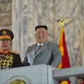 Парад в КНДР: новая баллистическая ракета и пожелания здоровья миру, объятому пандемией