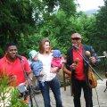 Kodune aiapidu Kuuba muusikutega.