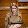 JUHTKIRI | Säilitagem väärikus, austatud riigikogu!