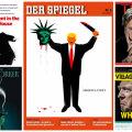 FOTOD: Maailma ajakirjad võistlevad Trumpi-esikaantega - kus on ta matšeetega terrorist, kus süütepudeliga mässaja?