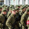 9. mai paraadi ettevalmistused Peterburis
