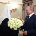 Putin õnnitleb patriarh Kirilli troonile saamise 12. aastapäeva puhul