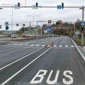 На Пирита теэ открыли новую полосу для общественного транспорта