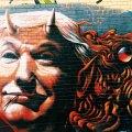 Trumpi halba mainet presidendina väljendab ka see seinamaaling (Foto: Unsplash.com / Jon Tyson)