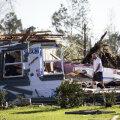 USA lõunaosariikides hukkus tornaadode ja tormi tõttu seitse inimest