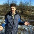 VIHANE MAAOMANIK: Grigori Petrišin seisab Lasnamäel oma krundil, kuhu tahab ehitada 14korruselisi kortermaju. Muidu ajab mees tsemendi- ja ekskavaatoriäri.