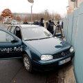 FOTOD | Berliinis rammis protestikirjadega auto liidukantsleriameti tara