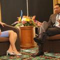 President Kaljulaid kuulutas kohtumisel Jamaica peaministriga armastust reggae-muusika vastu