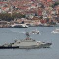 Zeljonõi Dol (nr 602)  läbimas Bosporuse väina 5. oktoobril.
