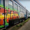 ВИДЕО | Кладбище поездов: блогер RusDelfi побывал в заброшенном вагоне эстонского поезда