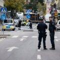 FOTOD: Stockholmi kesklinnas rööviti valuutavahetuspunkti ja tehti kahele pangale pommiähvardus