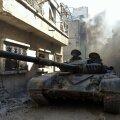 Süüria relvajõud hõivasid Homsi strateegilise linnaosa