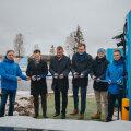 На шоссе Таллинн — Тарту открыт новый пункт экспресс-зарядки электромобилей