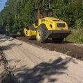 RMK тестирует сланцевую золу на пригодность для строительства лесных дорог