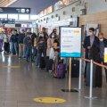 VIDEO JA FOTOD   Riskiriigist naasnud saavad nüüd lennujaamas koroonatesti tasuta teha: ühtegi reisidokumenti ette näitama ei pea
