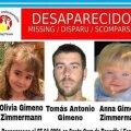 Kadunud laste ja isa tagaotsimiskuulutus.
