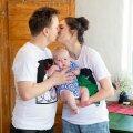 Klaudia Tiitsmaa ja Vallo Kirs teise poja sünnist: mõlemad on osanud oma sünnist vanematele korraliku tulevärgi korraldada