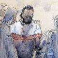 Salah Abdeslam möödunud nädalal Pariisis kohtus.