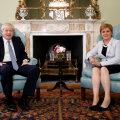 Johnson Sturgeonile: mingit Šoti iseseisvusreferendumit ei tule