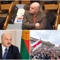 """""""Sellises olukorras rumal korraldada valgevenelaste elu Eestist,"""" ütleb keskerakondlane Igor Kravtšenko (ülemisel pildil)."""