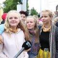 DELFI VIDEO | Noored omaalgatuslikul tantsupeol: hea on olla eestlane ja külm meil küll ei ole!