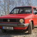 Volkswagen Golf I, foto Vallo Kruuser