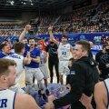 Eesti korvpallurid juubeldavad
