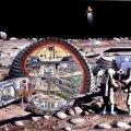 Täispuhutava Kuu-baasi plaan aastast 1989