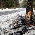 FOTOD SÜNDMUSKOHALT   Harjumaal hukkus avariis 26-aastane mees