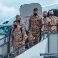 Эстонские военные вернулись домой из Мали