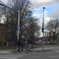 LUGEJA VIDEO: Lubja tänava ristmikul ei arvestata jalakäijatega