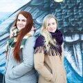 Kooli juhid Karin Künnapas ja Elle-Mari Pappel.