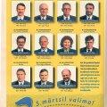 Tuttavad näod: 1995. aasta valimisplakat.
