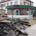 Kesk-Euroopa tulvades on hukkunud üheksa inimest